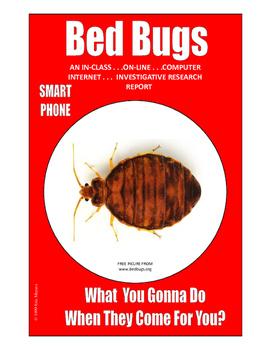 SALE  $8.50   BED BUGS  13-PAGES ... FUN  FUN  FUN . . . SMART PHONE RESEARCH