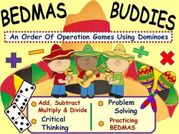 Cinco de Mayo ~ Order of Operations Math Games