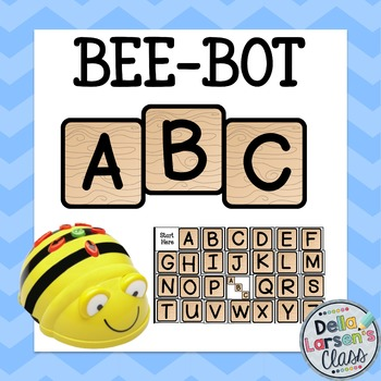 BEE-BOT ABC Alphabet Letter Tiles