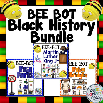 BEE BOT Black History BUNDLE