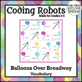 BEE BOT - Balloons Over Broadway - Cloze Reading Activity