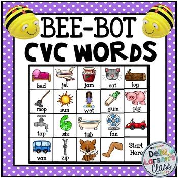 BEE-BOT CVC Words