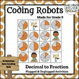 BEE BOT - Decimal to Fraction - Plugged & Unplugged