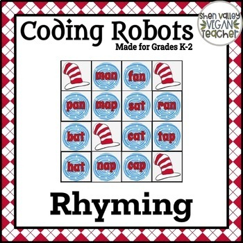 Coding Robots (Bee-Bot & More) - Rhyming - Read Across America Week