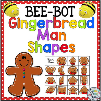 BEE BOT Gingerbread Cookie Shapes
