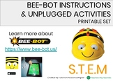 BEE BOT INSTRUCTIONS SET AND UNPLUGGED GAMES AND ACTIVITIES