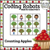 BEE BOT - Counting Apples (1-9) - Plugged and Unplugged