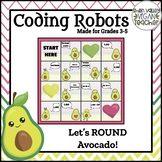 BEE BOT - Let's ROUND Avocado - VA SOL Math 3.1b