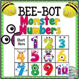 BEE BOT Monster numbers 1-10