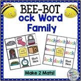"""BEE BOT Reading  """"OCK' Word Family"""
