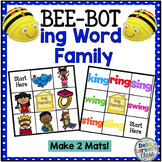 "BEE BOT Reading  ""ing' Word Family"