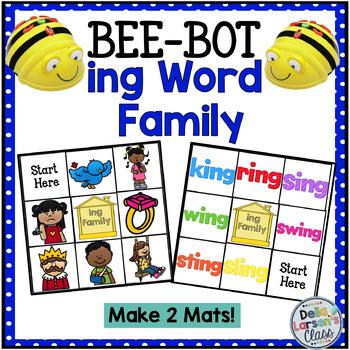 """BEE BOT Reading  """"ing' Word Family"""