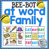 "BEE BOT  Reading  the ""at word Family"""