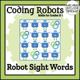 BEE BOT - Robot Sight Words (K-1)