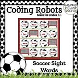 BEE BOT - Soccer Sight Words - VA SOL English K.5 & 1.5
