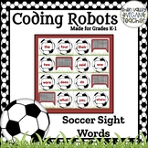 BEE BOT - Soccer Sight Words - VA SOL English K.5 & 1.5