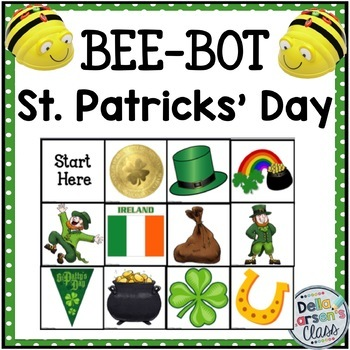 BEE-BOT St. Patrick's Day