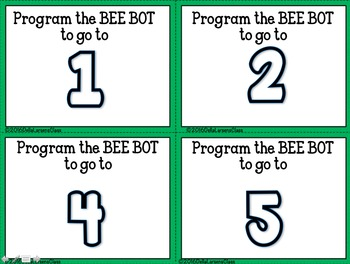 BEE-BOT Ten Frames