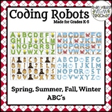 BEE BOT - Vocabulary - Spring, Summer, Fall, and Winter - ABC's