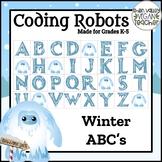Bee Bot Winter Spelling ABC's