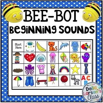 BEE BOT initial sound alphabet