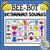 BEE BOT initial sound alphabet