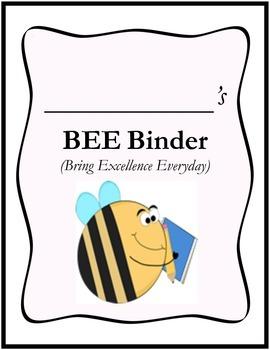 BEE Binder Cover