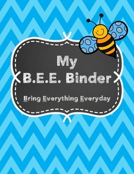 BEE Binder Files