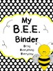 BEE Binder - Get Your Students Organized