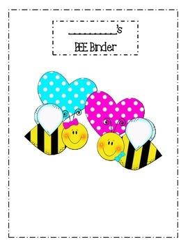 BEE Binder Printables!