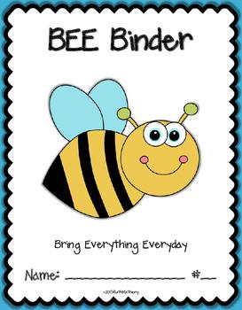 BEE Binder {Student Organization Folder}