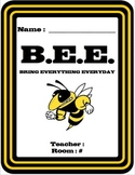 B.E.E. Binder and To Do Page