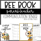 BEE Book Binder - EDITABLE