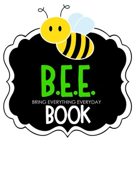 B.E.E. Book Clipart (green)