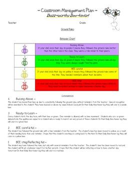 BEE Classroom Management Plan