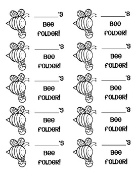BEE Communication Folders