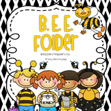BEE Folder - Parent Communication & Take Home Folder EDITABLE