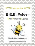BEE Homework Folder
