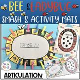 BEE & LADYBUG SMASH/ACTIVITY MATS, GAME COMPANION - ARTICULATION (SPEECH THERAPY