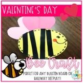 Bumble Bee Valentine Bulletin Board Craft/Hallway Display