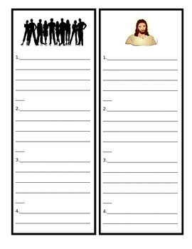 """""""BEE"""" More Like Jesus Activity Packet"""