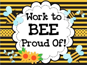 BEE Bulletin Board Display