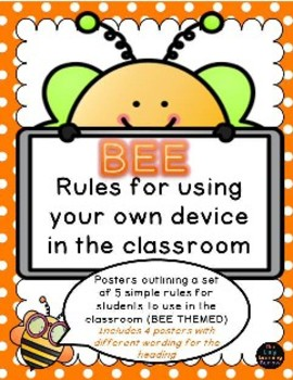 BEE Rules for using device