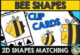 BEE SHAPES CENTER (KINDERGARTEN GEOMETRY ACTIVITIES)