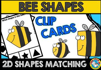 BEE SHAPES CENTER (KINDERGARTEN GEOMETRY ACTIVITIES)