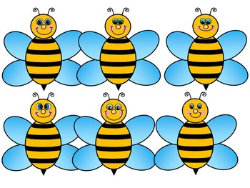 BEE SPINNERS-BEE CLIP ART