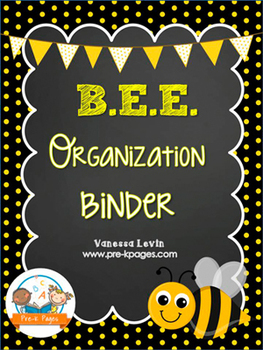Bee Student Organization And Parent Communication Binder