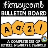 BEE THEMED CLASSROOM DECOR (BEE BULLETIN BOARD LETTERS PRINTABLE)