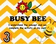 Bee Themed Marzano Learning Scale Rubric