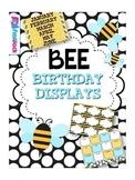 BEE Themed Birthday Displays